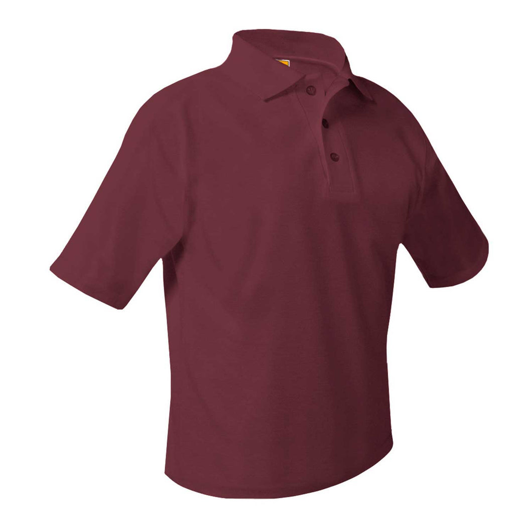 NHA HIGH SCHOOL SHORT SLEEVE POLO WITH LOGO