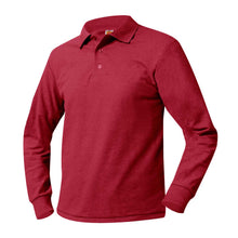 Load image into Gallery viewer, ST. MADELEINE LONG SLEEVE POLO WITH LOGO