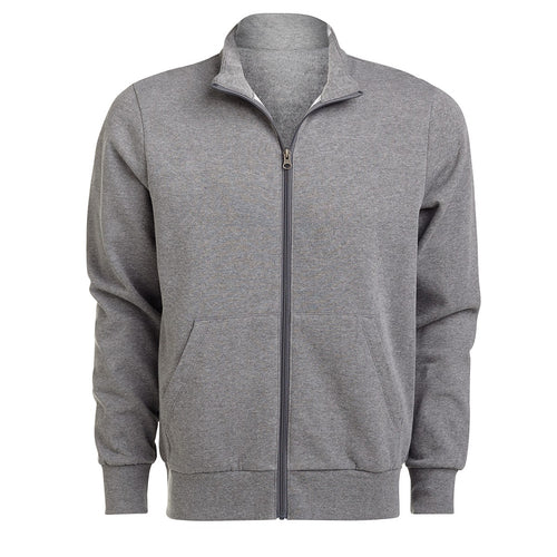 SCHOOL IN THE SQUARE FULL ZIP GREY SWEATSHIRT (SOFFEE)