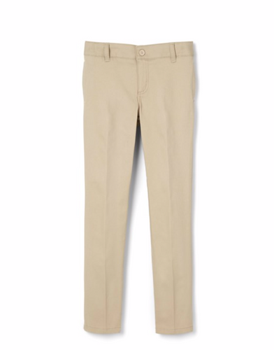 EDV TWILL PANT FOR BOYS AND GIRLS-KHAKI