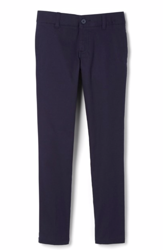 EDV TWILL PANT FOR BOYS AND GIRLS-NAVY