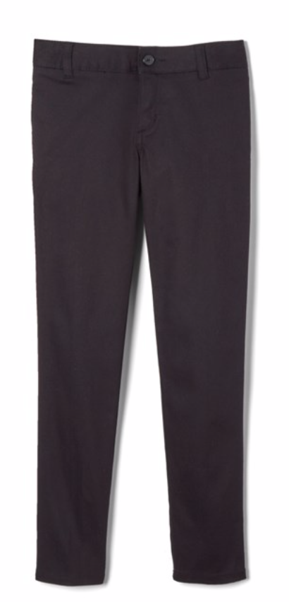 EDV TWILL PANT FOR BOYS AND GIRLS-BLACK