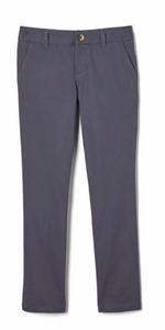 BELA TWILL PANT FOR GIRLS-GREY