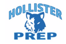 Load image into Gallery viewer, HOLLISTER MIDDLE SCHOOL COLOR BLOCK GREY WITH NAVY PERFORMANCE HOODIE w/logo (ST235)