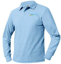 Load image into Gallery viewer, HAVEN ACADEMY LONG SLEEVE K-5 POLO-ADULT SIZES