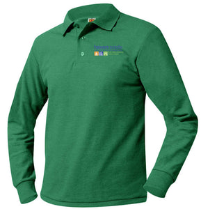 HAVEN MIDDLE SCHOOL LONG SLEEVE PIQUE POLO SHIRTS
