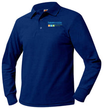 Load image into Gallery viewer, HAVEN MIDDLE SCHOOL LONG SLEEVE PIQUE POLO SHIRTS