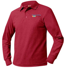 Load image into Gallery viewer, HAVEN ACADEMY K-5 LONG SLEEVE POLO SHIRTS-YOUTH SIZES