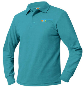 HAVEN ACADEMY K-5 LONG SLEEVE POLO SHIRTS-YOUTH SIZES