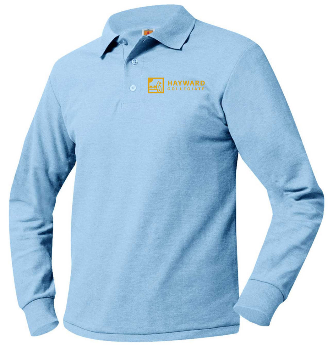 HAYWARD ACADEMY LONG SLEEVE PIQUE POLO