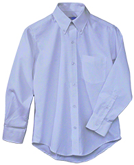 BLUE  LONG SLEEVE OXFORD