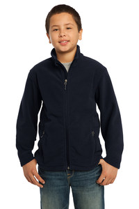 TEP NAVY FULL ZIP POLAR FLEECE