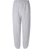 ST. GREGORY'S GREY PE PANTS-WITH LOGO