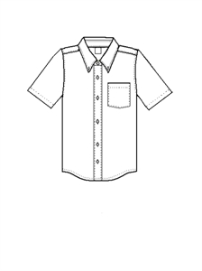 NWS  SHORT SLEEVE OXFORD