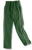 S. JUDE GREEN PE TRACKPANTS