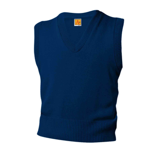 ST. CLEMENT'S  NAVY V-NECK SWEATER VEST
