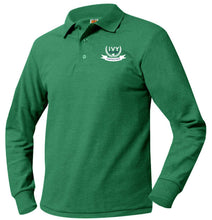 Load image into Gallery viewer, IVY HILL PREP LONG SLEEVE PIQUE POLO
