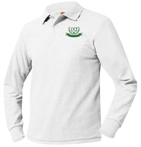 IVY HILL PREP LONG SLEEVE PIQUE POLO