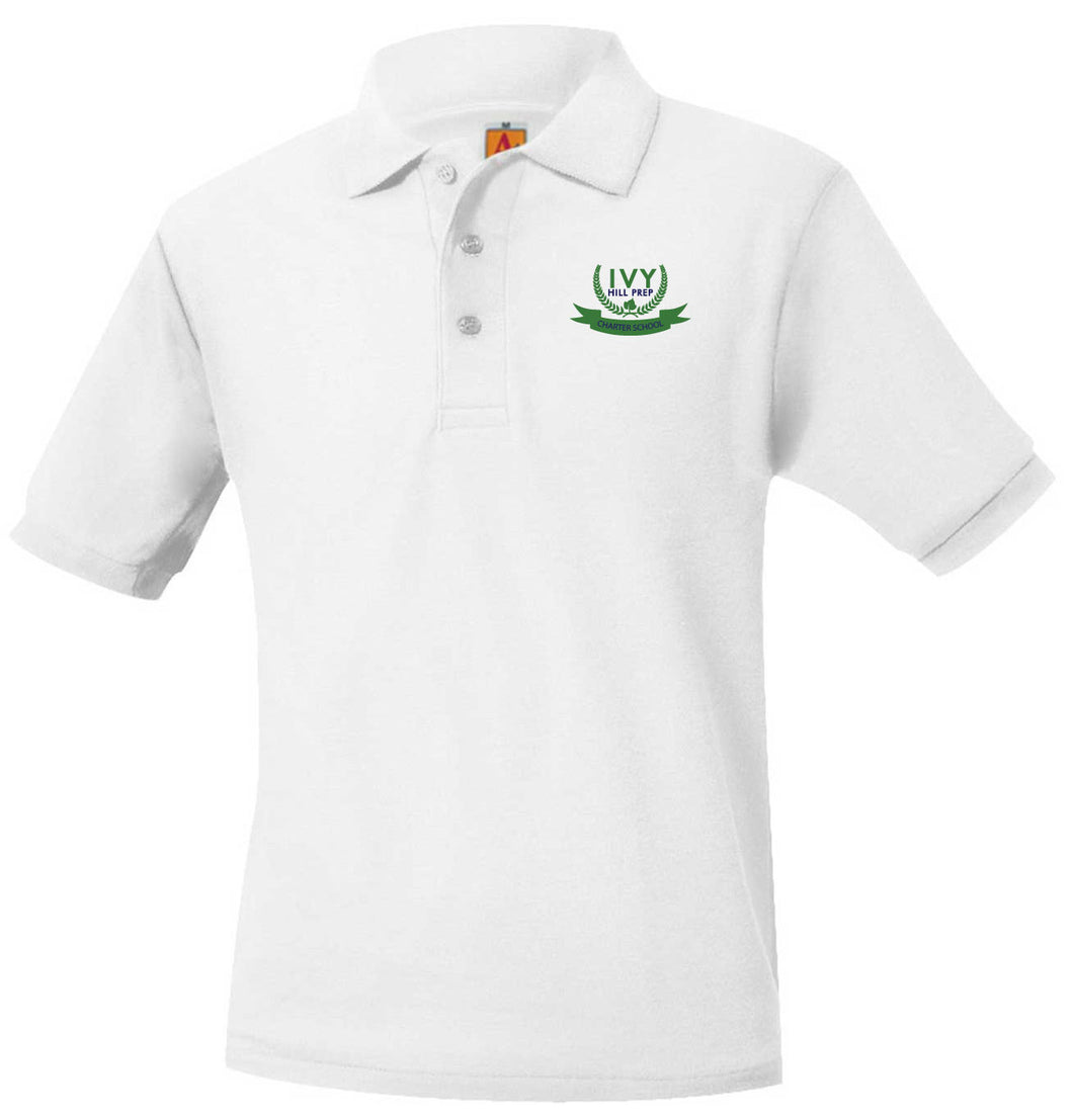 IVY HILL PREP SHORT SLEEVE PIQUE POLO