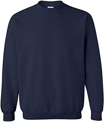 ADS NAVY PE CREWNECK SWEATSHIRT WITH LOGO