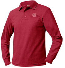Load image into Gallery viewer, SCHOOL IN THE SQUARE -MIDDLE SCHOOL LONG SLEEVE POLO