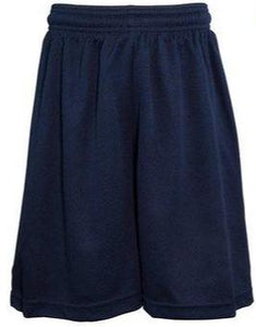 ST. CLEMENT'S NAVY PE MESH SHORTS