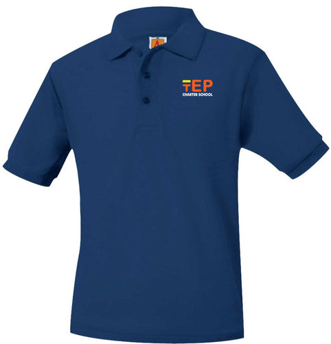 TEP SHORT SLEEVE MIDDLE SCHOOL POLO