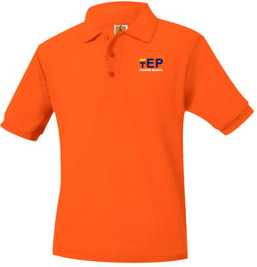 TEP SHORT SLEEVE ECP SCHOOL POLO