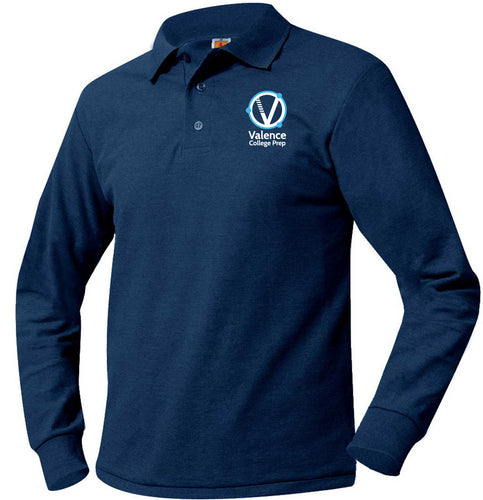 VALENCE LONG SLEEVE PIQUE POLO