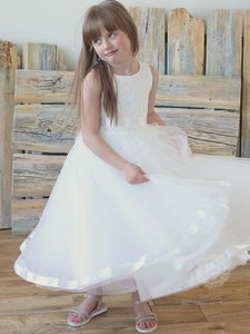 Fluffy Skirt Flower Girl Dress Airy and Fancy