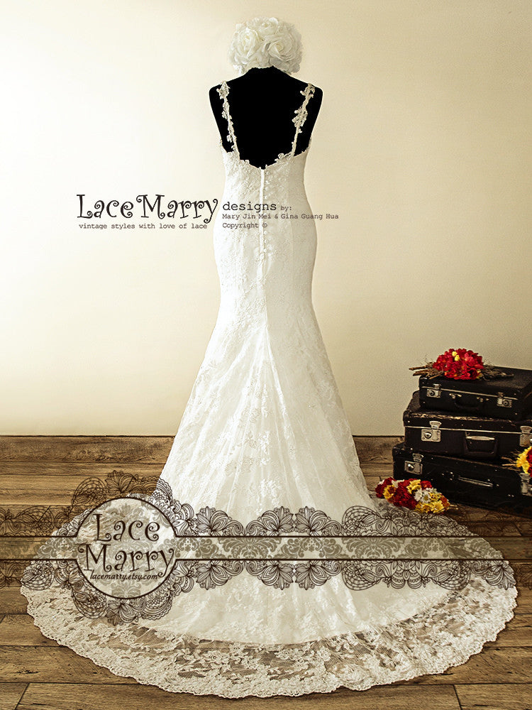 Chapel Trail Handmade Wedding Dress