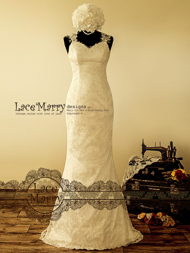 antique style wedding dresses