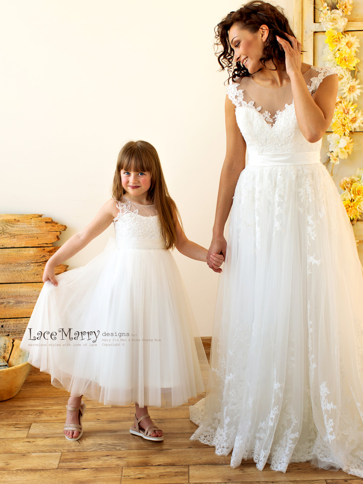 Beautiful Tutu Flower Girl Dress