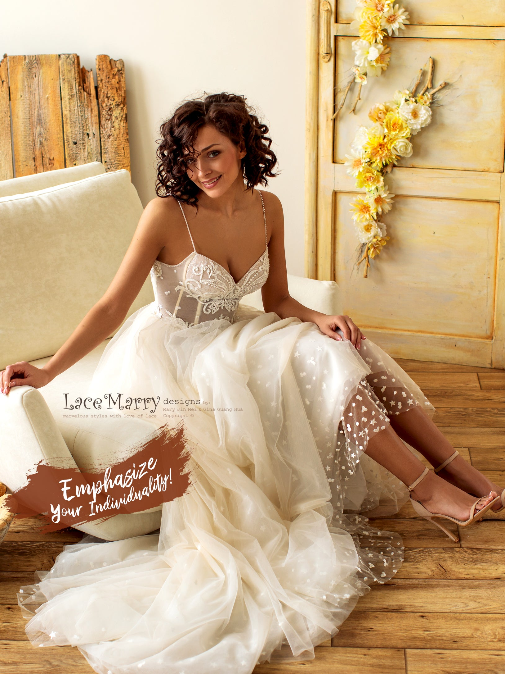 Gorgeous Design Wedding Dress