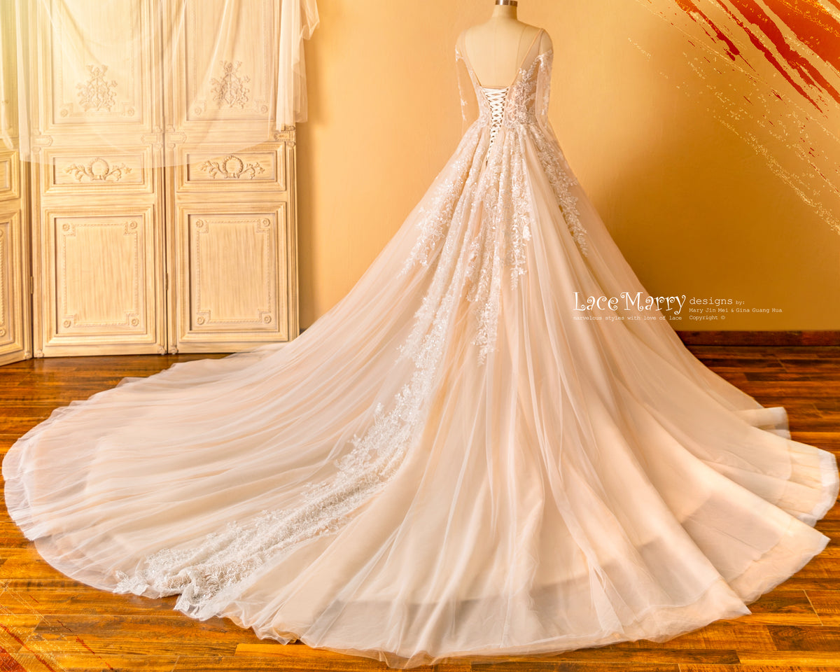Cathedral Length Wedding Dress