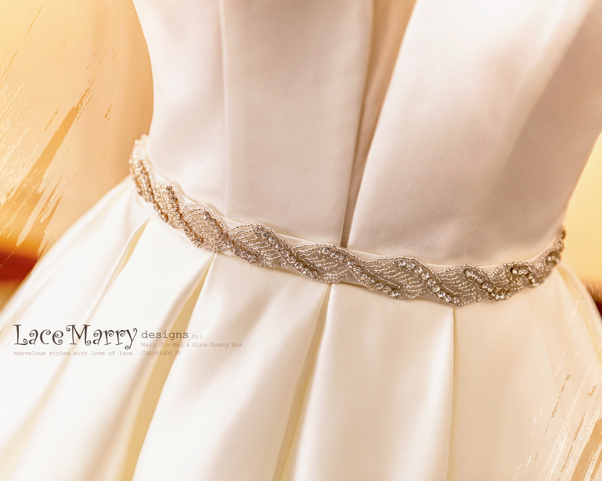 Embellishment Bridal Sash