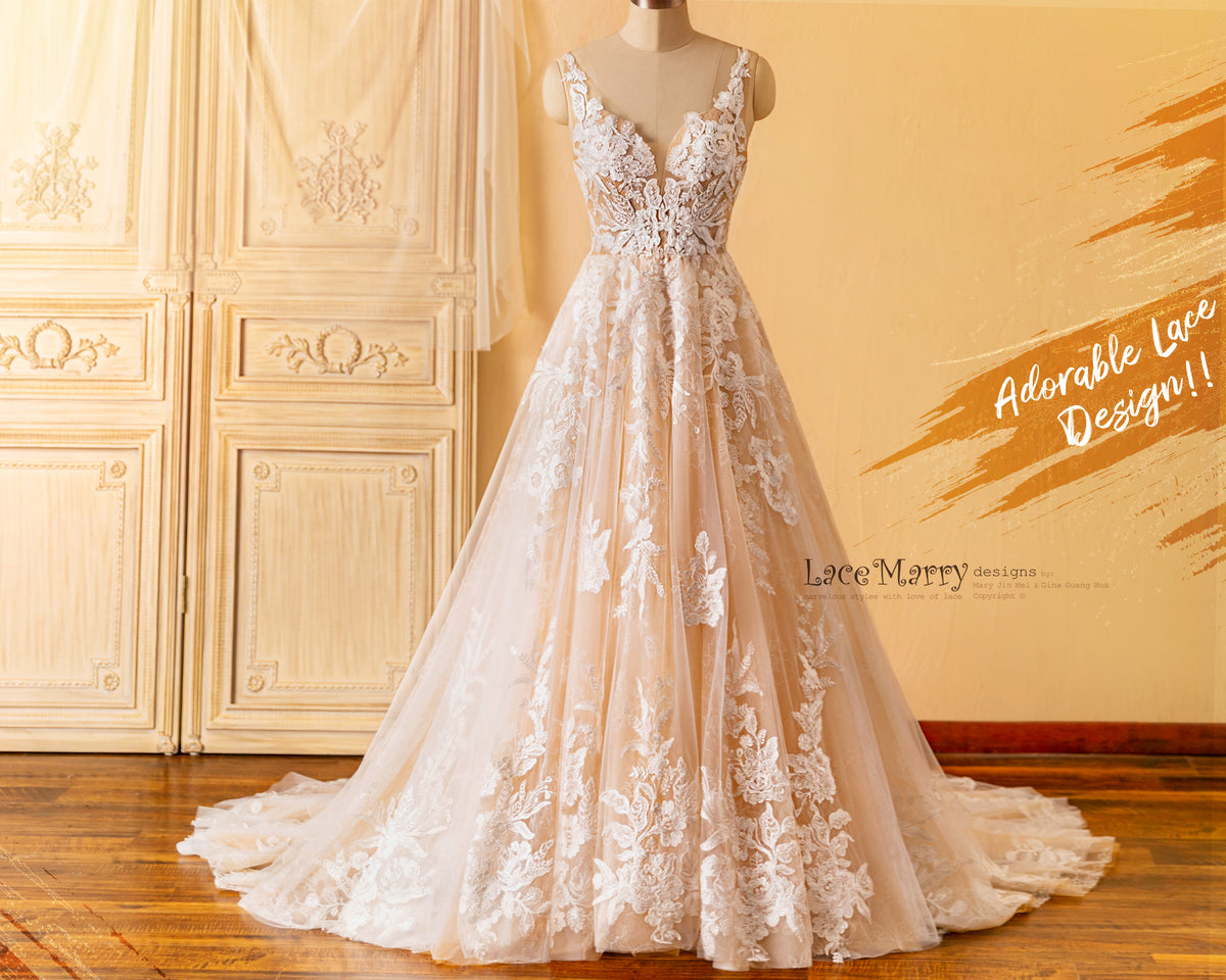 Adorable Lace Wedding Dress