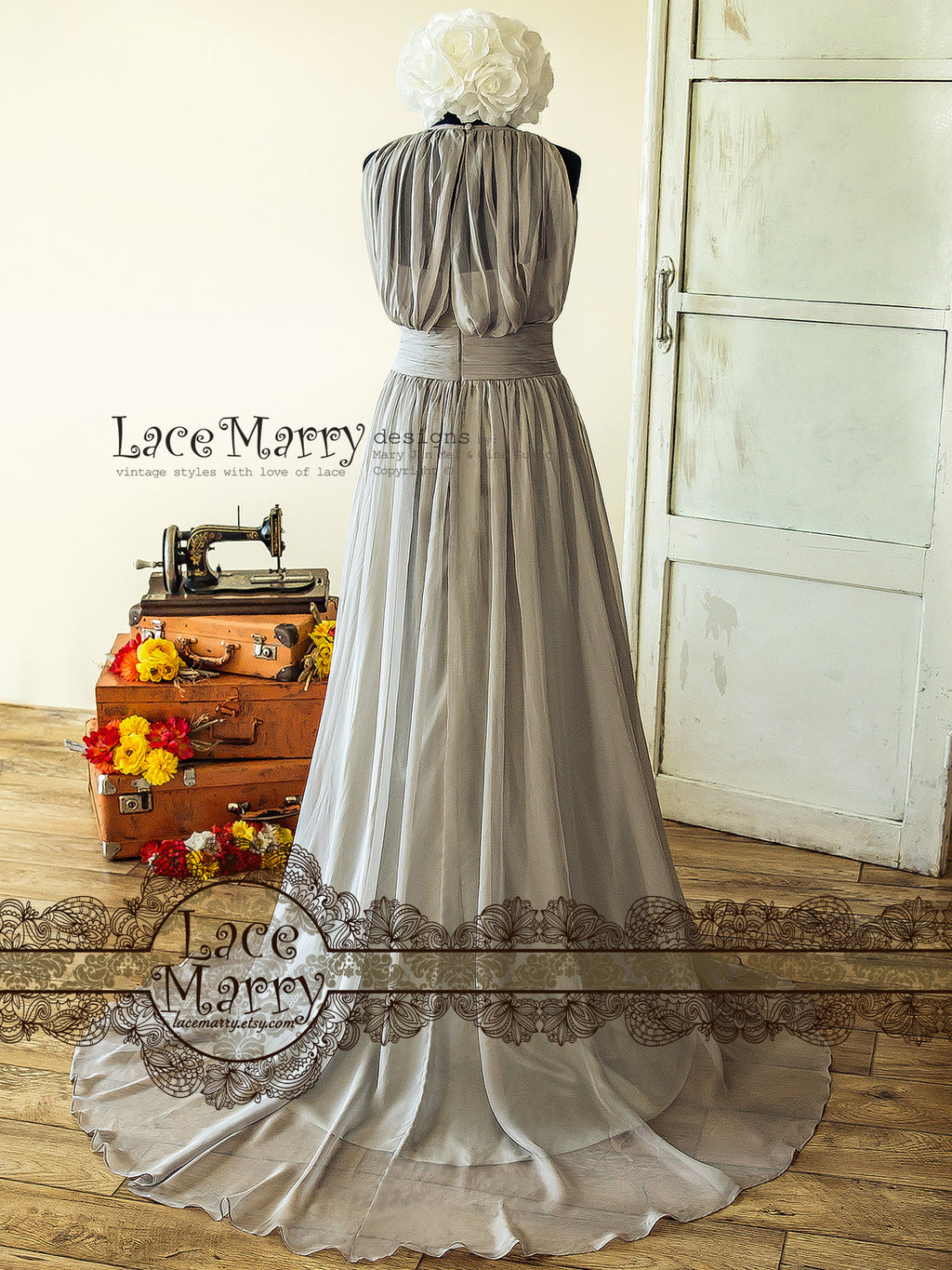 Chic and affordable bridesmaid dresses collection by lacemarry ash gray bridesmaid dress ash gray bridesmaid dress ombrellifo Images