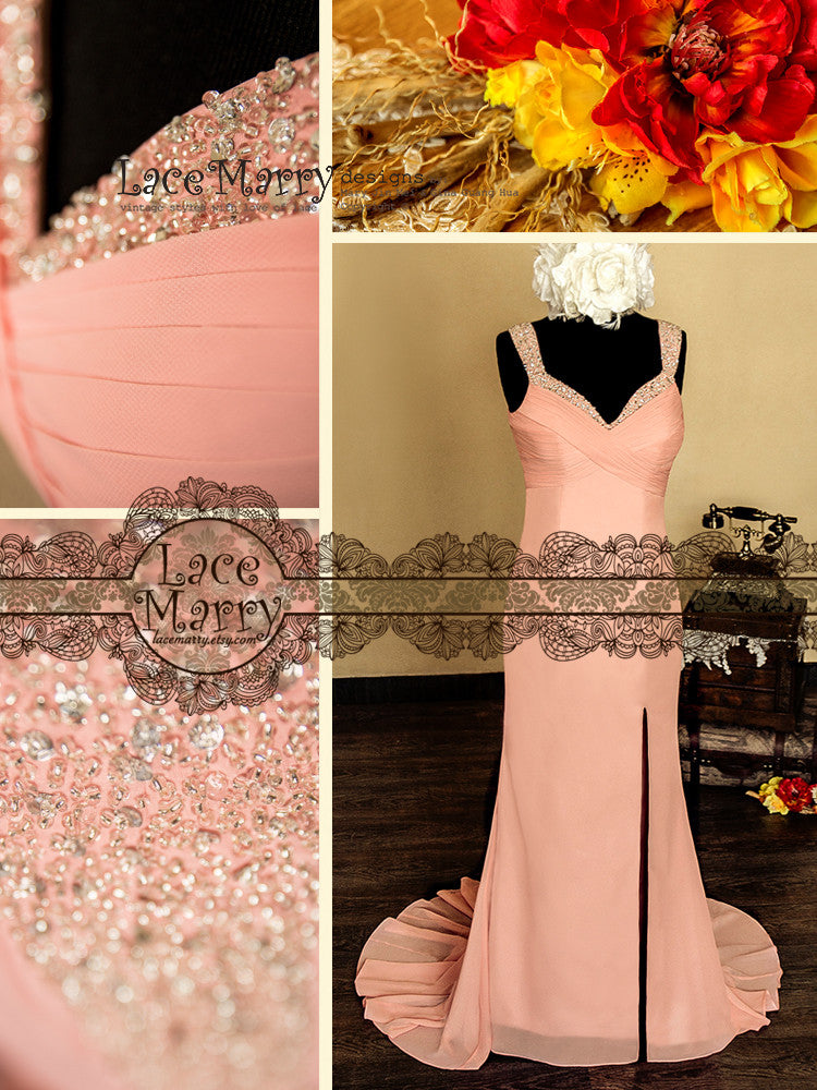 Bridesmaids Dresses with Beading