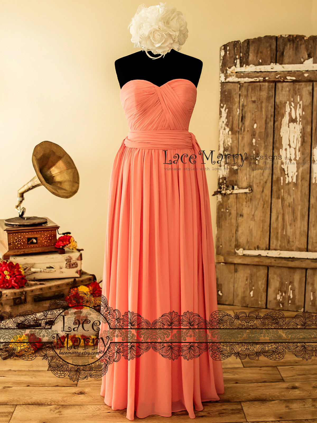 Multiway Chiffon Bridesmaid Dress