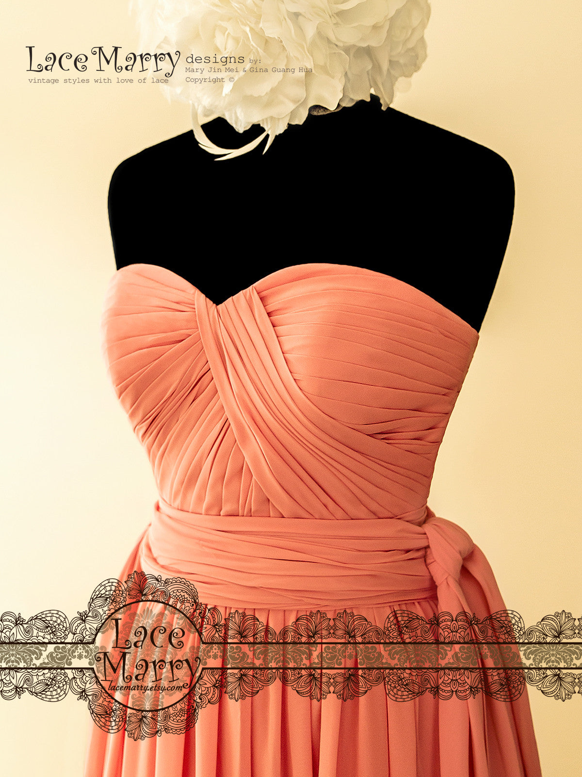 Strapless Neckline Prom Dress