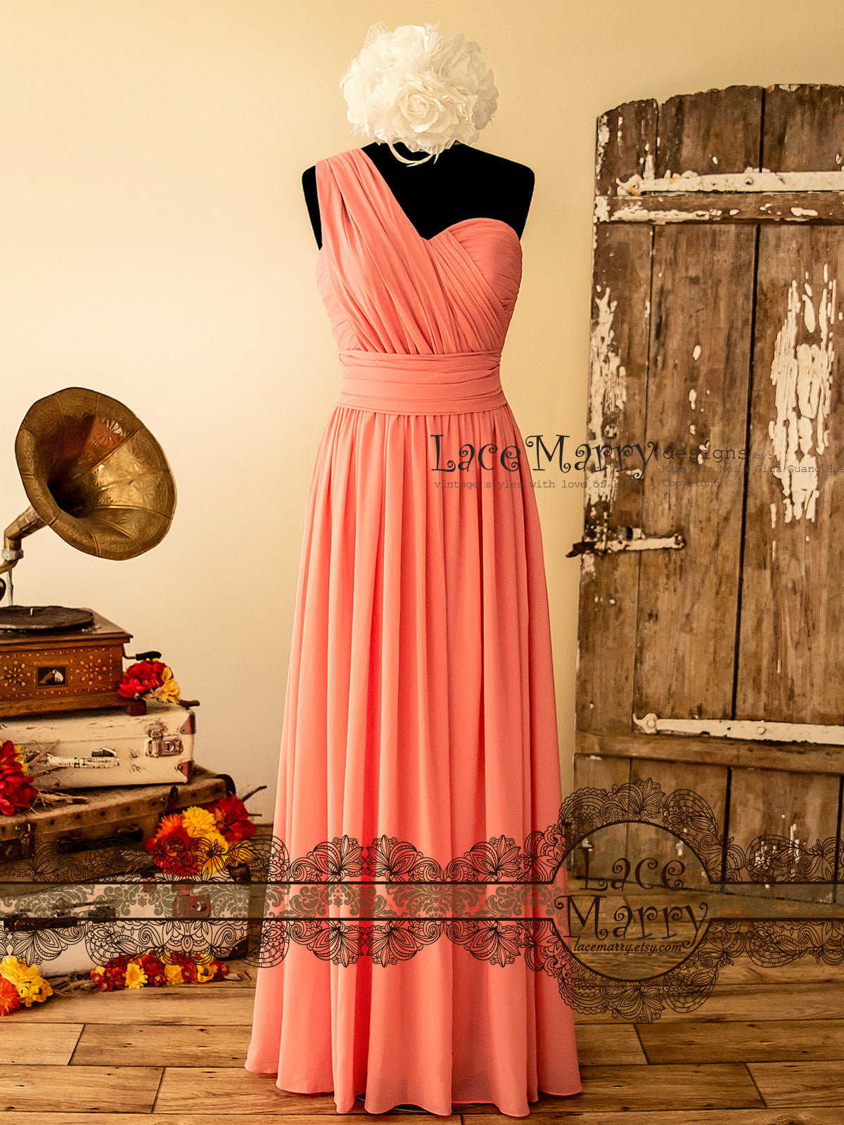 Infinity Chiffon Bridesmaid Dress