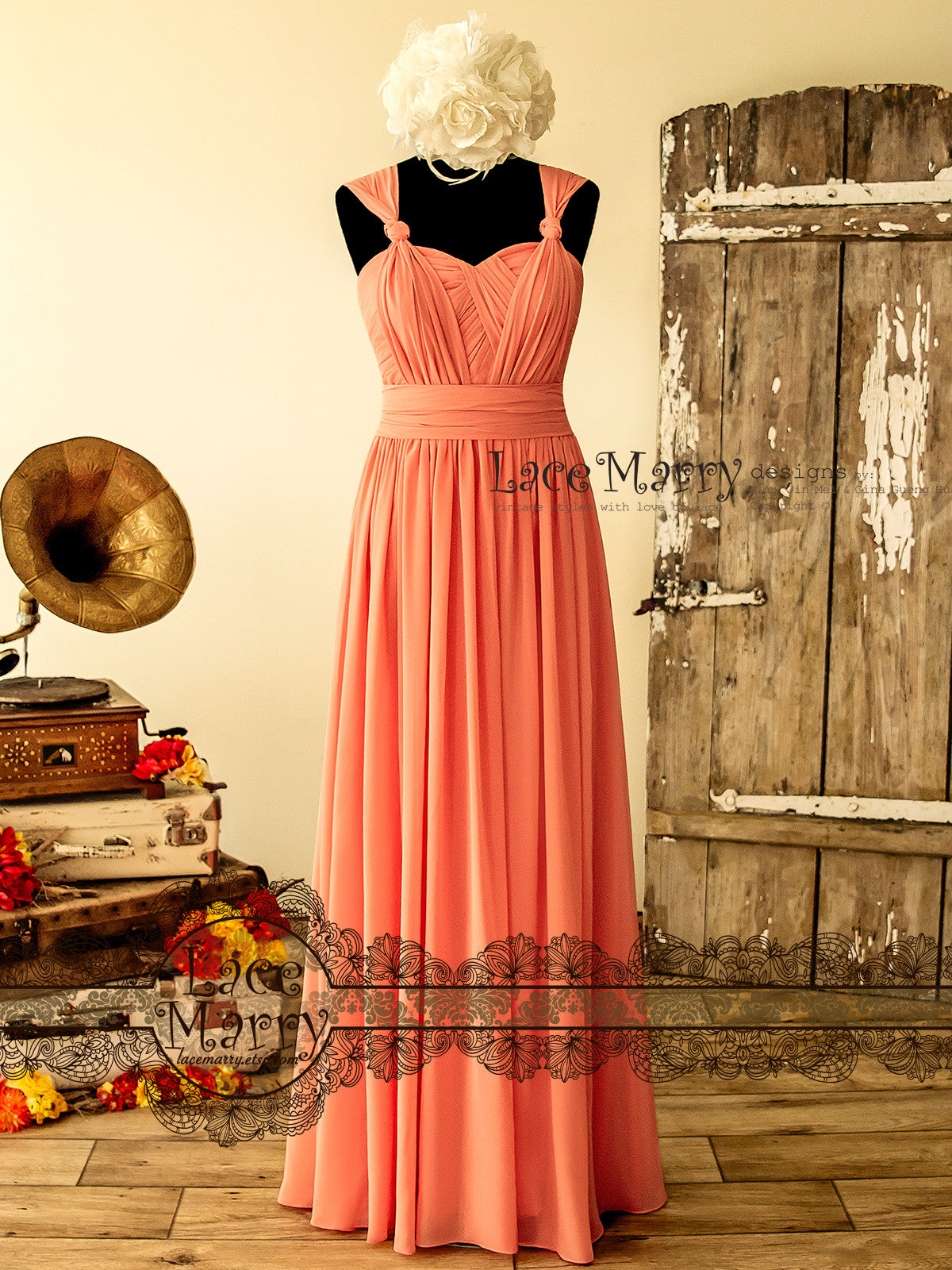 Infinity Chiffon Prom Dress