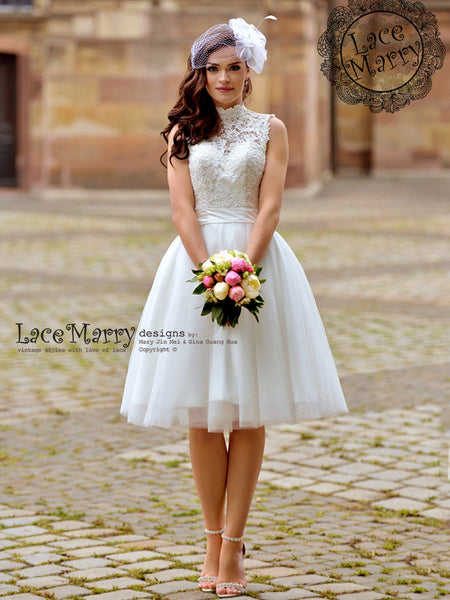 Short Wedding Dresses by LaceMarry | Custom Made Just for You!