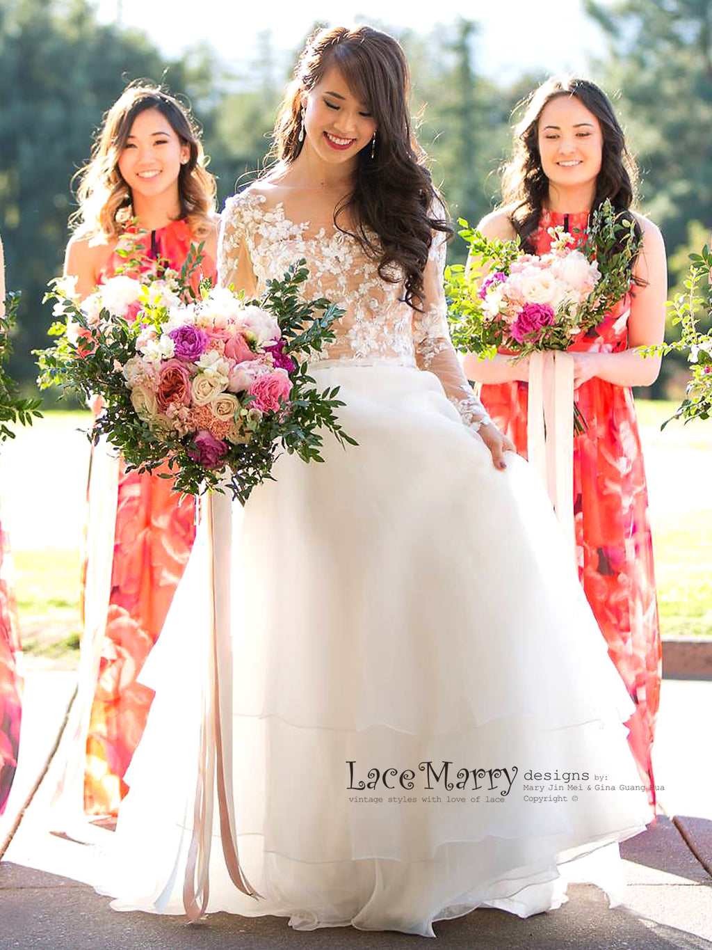 Custom made vintage style lace wedding dresses by lacemarry ombrellifo Gallery