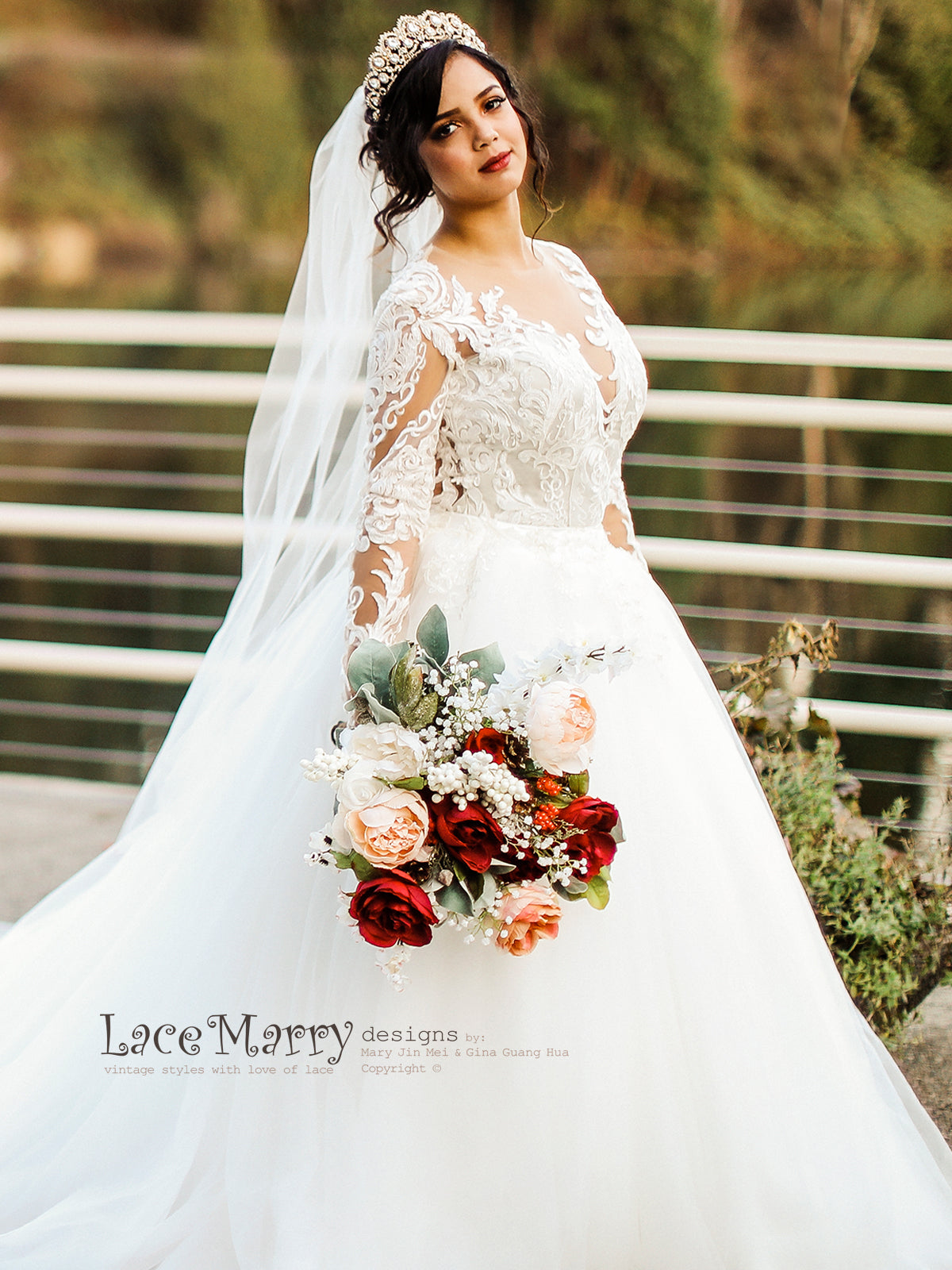 Breathtaking Lace wedding Dress