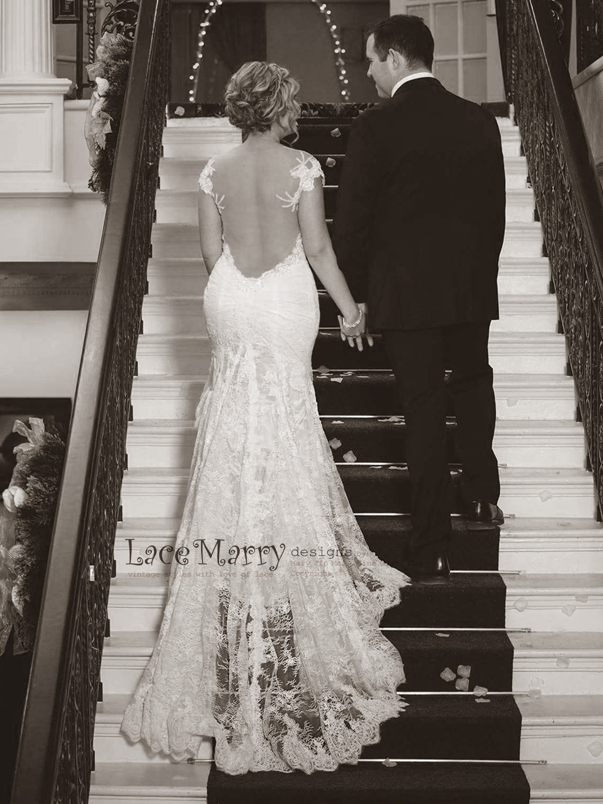 Exclusive Lace Wedding Dress