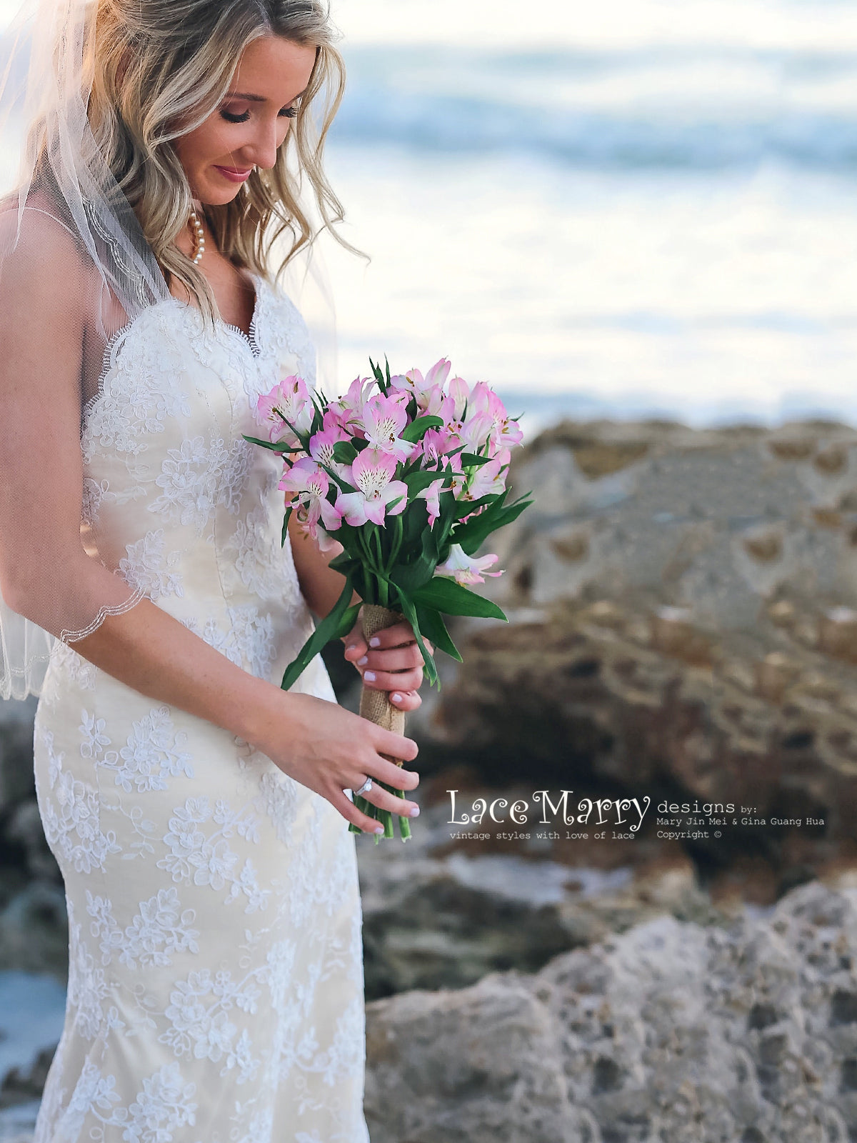 Sexy Beach Wedding Dress