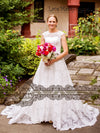 Gorgeous Wide A Line Wedding Dress