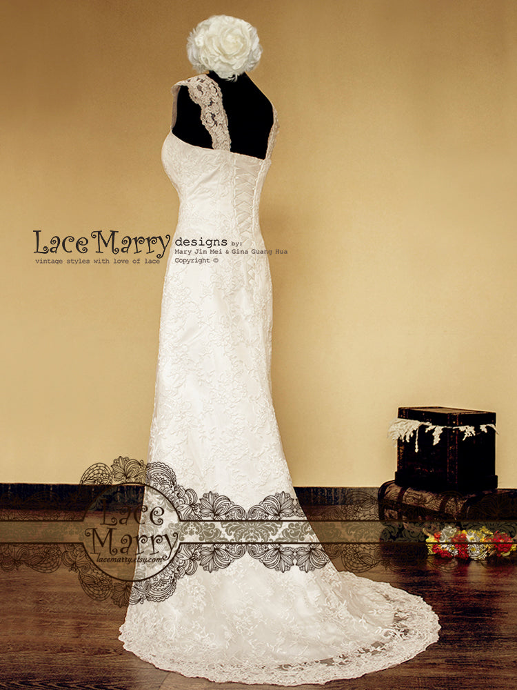 Slim Wedding Dress with Light Weight